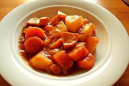 Kartoffel - Wurst - Gulasch 3