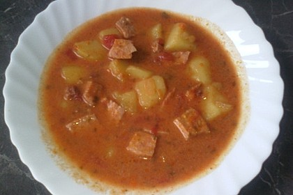 Kartoffel - Wurst - Gulasch 7