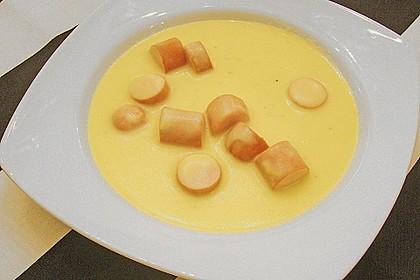 Kartoffel - Käse - Suppe 4