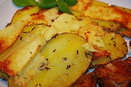 Thymian - Kartoffeln im Backofen 6