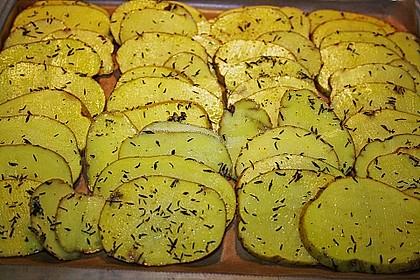 Thymian - Kartoffeln im Backofen 19