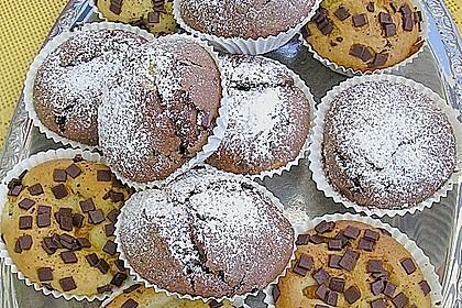 Grundrezept Muffins 12
