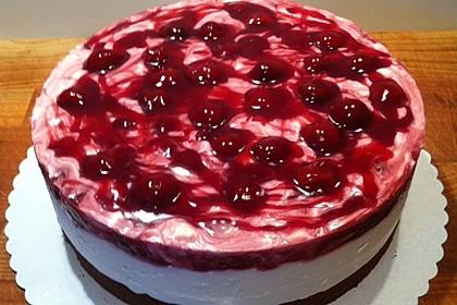 Gute Laune - Kirsch - Torte 2