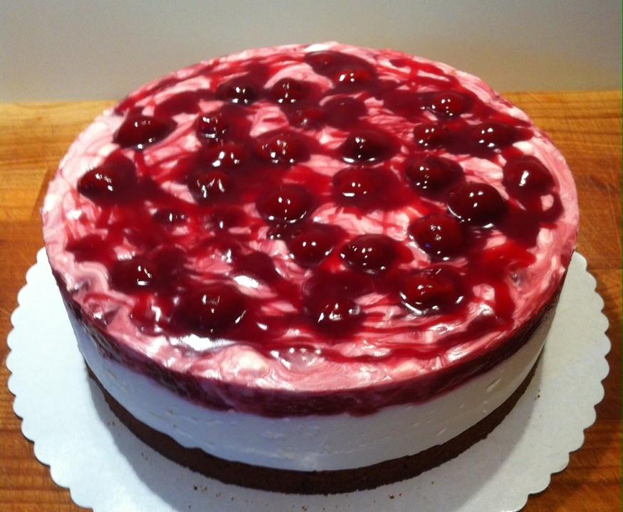 Gute Laune Kirsch Torte Von Small Cook Girl Chefkoch De