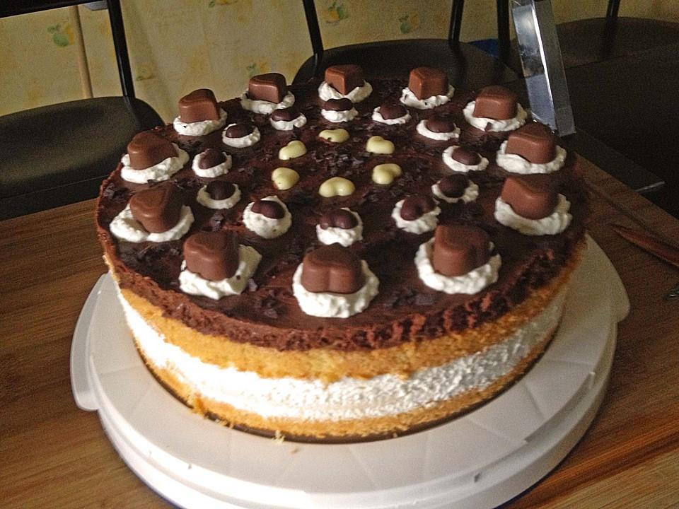 Milka Herzen Torte Von Cjless Chefkoch De