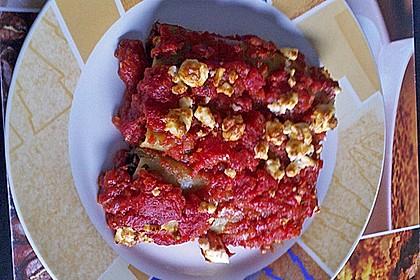 Cannelloni mit Spinat - Schafskäse - Füllung 3