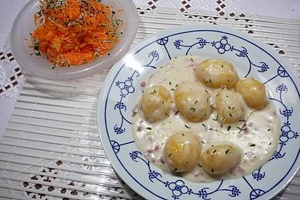 Pikante Béchamelkartoffeln