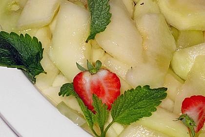 Marinierte Melone