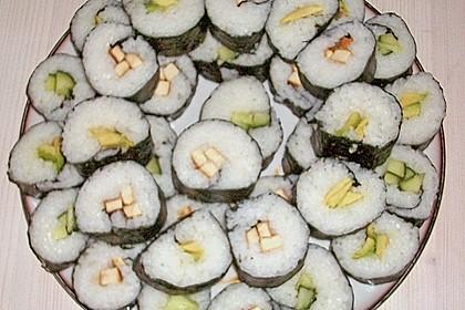 Sushi  mit Tofu 9