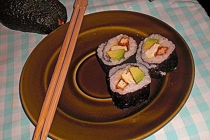 Sushi  mit Tofu 7