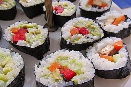 Sushi  mit Tofu 1