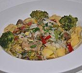Vegetarische Tortellini-Pfanne (Bild)