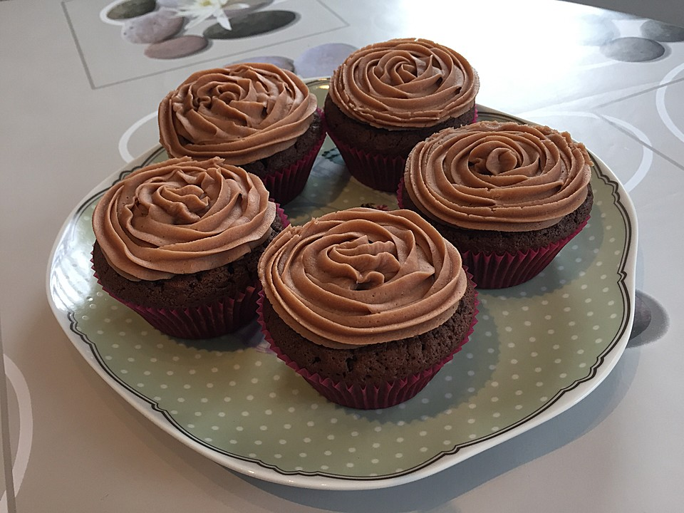 Schokoladen muffins schnelles rezept