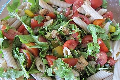 Italienischer Nudelsalat mit Rucola 2