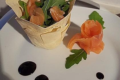 Rucola - Lachs - Salat