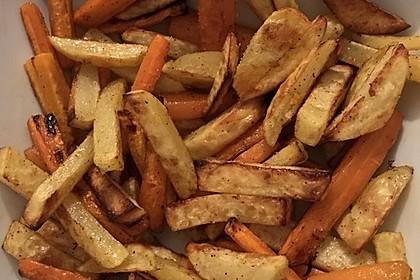 Gemüse-Sticks aus dem Backofen (Bild)