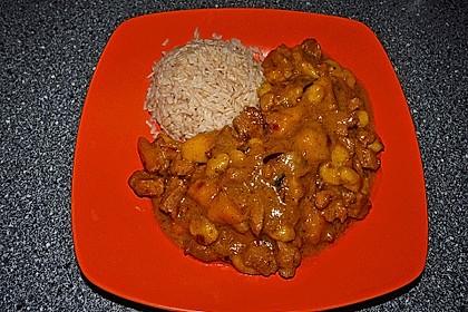 Gelbes Mango - Bananen - Curry 2