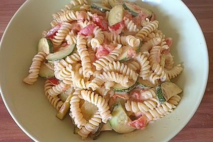Zucchini und Tomaten in Sahnesoße 5