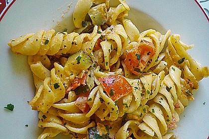 Zucchini und Tomaten in Sahnesoße 2