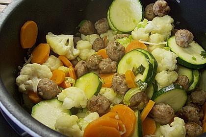 Mettbällchen - Schmand - Suppe 1
