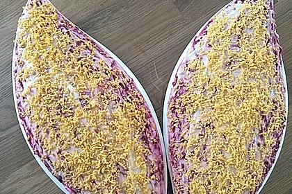 Russischer Schichtsalat 'Hering im Pelzmantel' 14