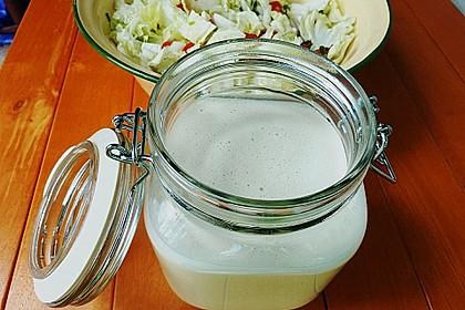 Salatsoße für größere Mengen 3