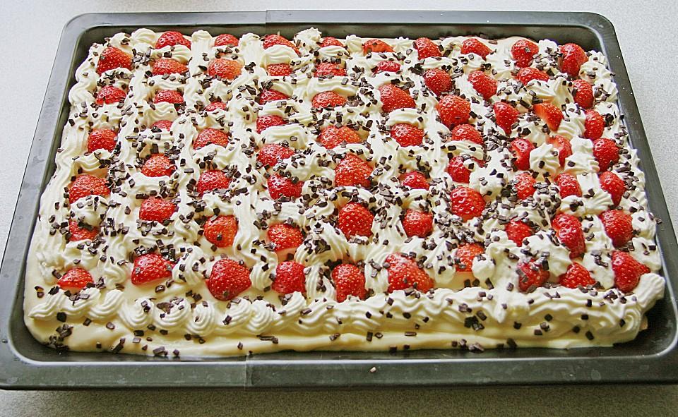 Erdbeer Vanille Kuchen Von Mreinart Chefkoch De