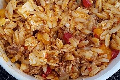 Kritharaki-Salat mit Hackfleisch 64