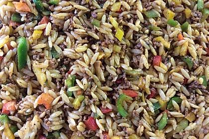 Kritharaki-Salat mit Hackfleisch 33