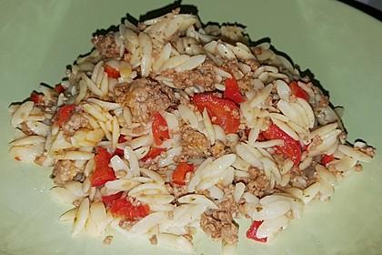 Kritharaki-Salat mit Hackfleisch 45