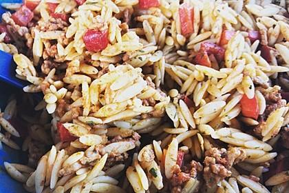 Kritharaki-Salat mit Hackfleisch 26