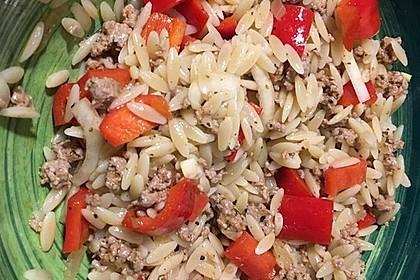 Kritharaki-Salat mit Hackfleisch 27