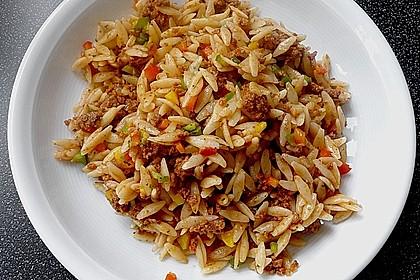 Kritharaki-Salat mit Hackfleisch 16