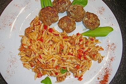 Kritharaki-Salat mit Hackfleisch 31