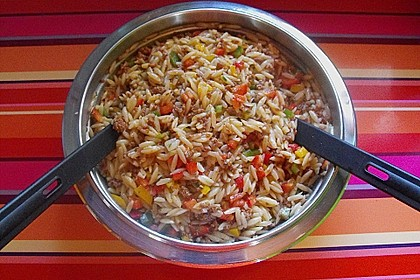 Kritharaki-Salat mit Hackfleisch 38