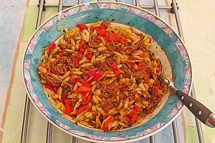 Kritharaki-Salat mit Hackfleisch 49