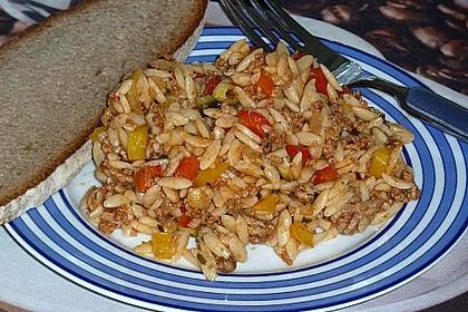 Kritharaki-Salat mit Hackfleisch 50