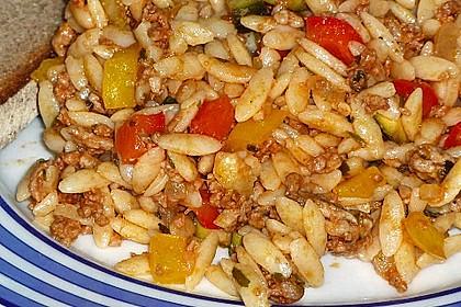 Kritharaki-Salat mit Hackfleisch 56
