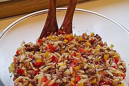 Kritharaki-Salat mit Hackfleisch 5
