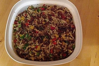 Kritharaki-Salat mit Hackfleisch 60