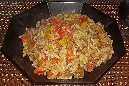 Kritharaki-Salat mit Hackfleisch 42