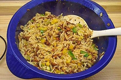 Kritharaki-Salat mit Hackfleisch 70