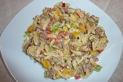Kritharaki-Salat mit Hackfleisch 78