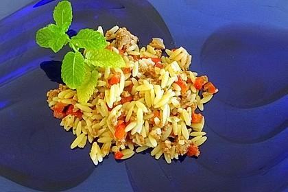 Kritharaki-Salat mit Hackfleisch 13