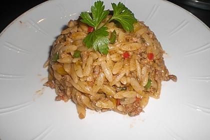 Kritharaki-Salat mit Hackfleisch 19