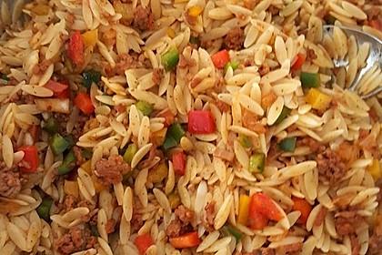 Kritharaki-Salat mit Hackfleisch 35