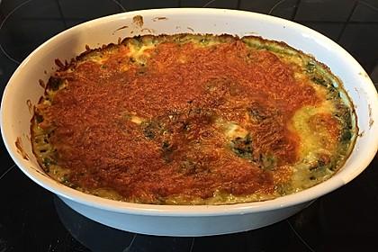 Spinat - Schafskäse - Lasagne 12