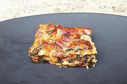 Spinat - Schafskäse - Lasagne 29