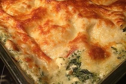 Spinat - Schafskäse - Lasagne 13