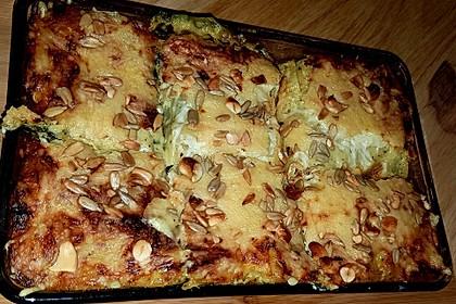 Spinat - Schafskäse - Lasagne 27